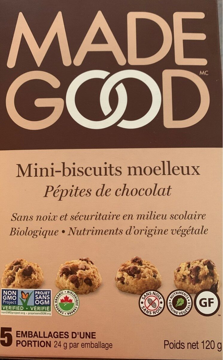 Mini-biscuits moelleux - Product - fr