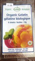 Gelatine biologique - Produit - fr