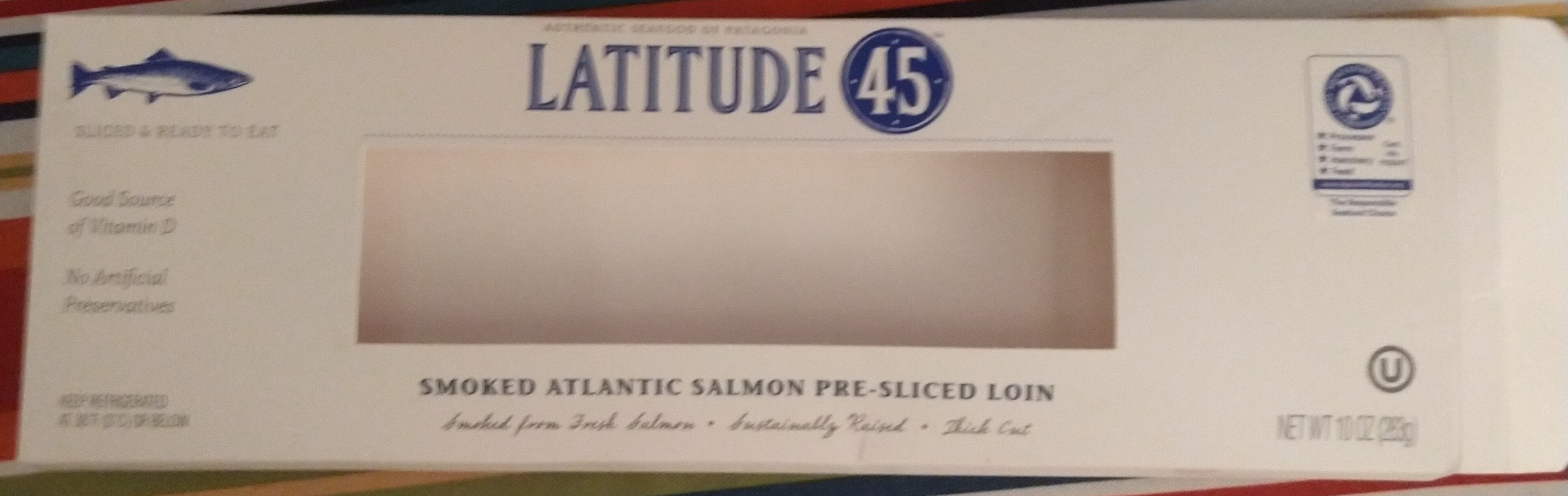Smoked Atlantic Salmon pre-sliced loin - Product