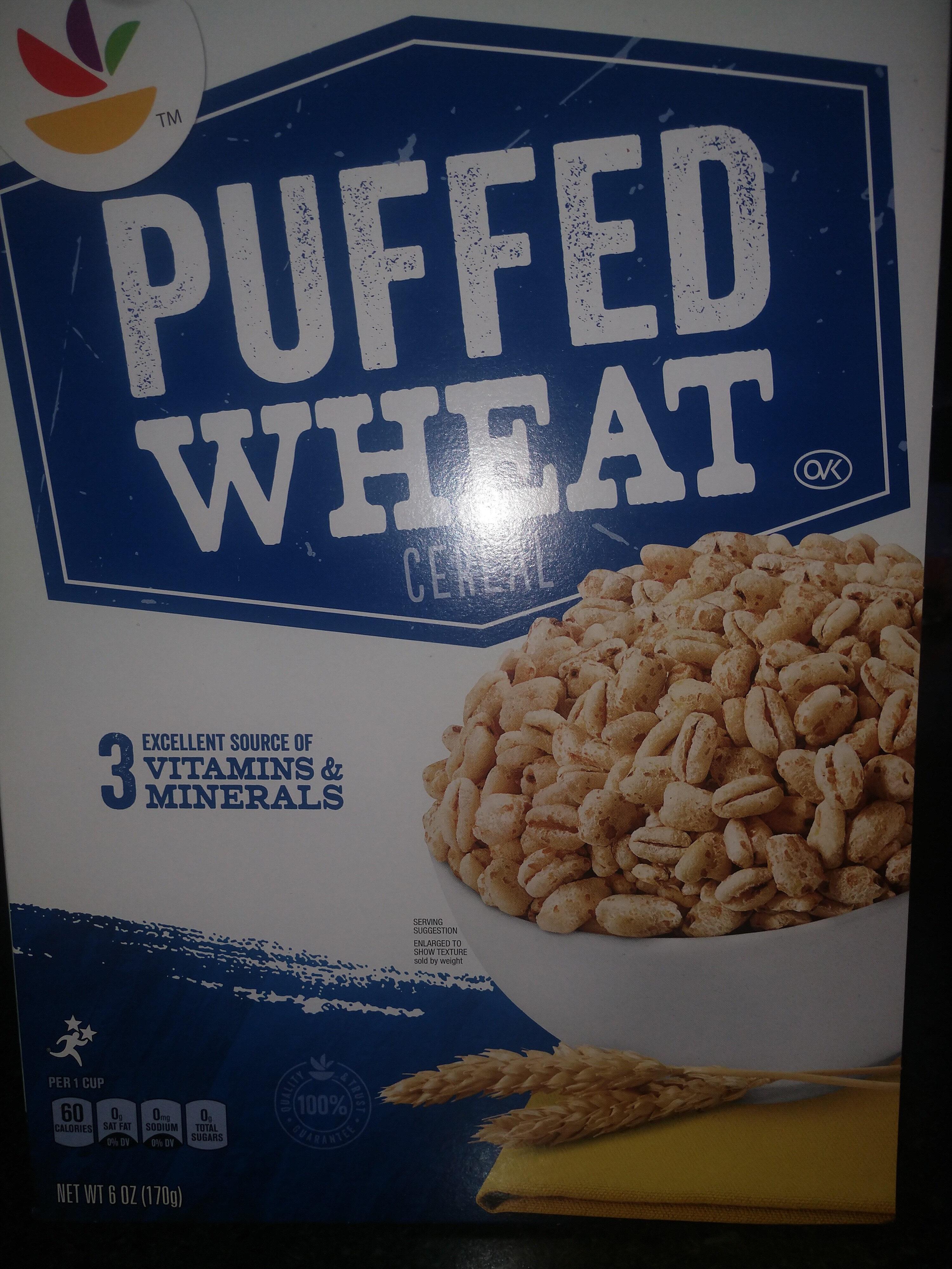Giant, puffed wheat - Produit - en