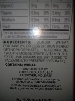 Giant, puffed wheat - Ingrédients - en