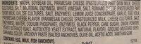 Wegmans Caesar Dressing - Ingredients - en