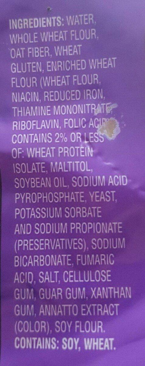 Flatout original - Ingredients
