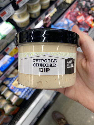 Whole foods market, chipotle cheddar dip - Product - en