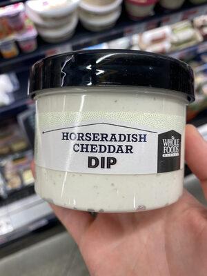Whole foods market, horseradish cheddar dip - 1
