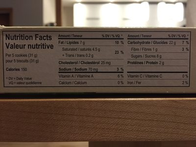 Biscuits au beurre - Product - en