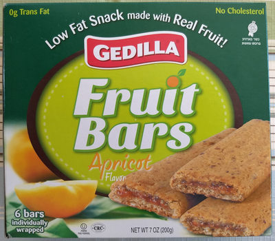 Fruit Bars, Apricot Flavor - Product