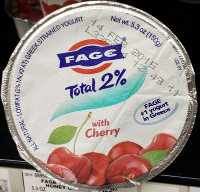 Fage Total 2% with Cherry - Product
