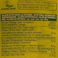 So Soja! à la Grecque - noisette - Informations nutritionnelles - fr