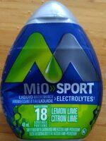 MiO SPORT électrolytes citron lime - Product - en