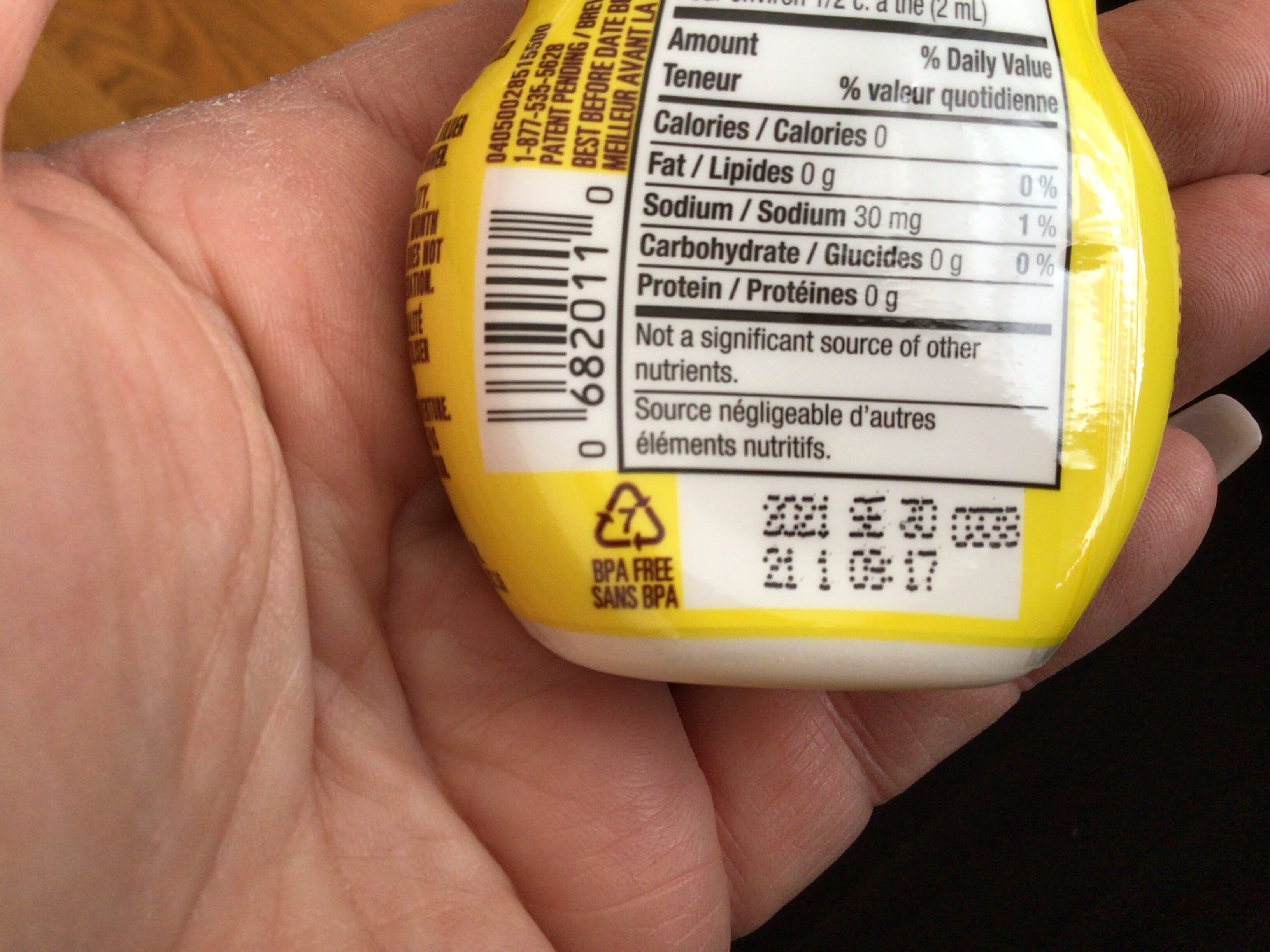 Lemonade/Limonade - Recycling instructions and/or packaging information - fr
