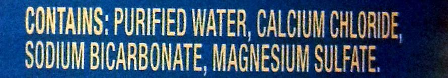 Pure Life - Ingredients
