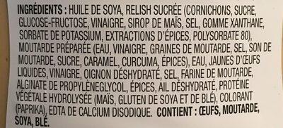 Big Mac Sauce - Ingredients