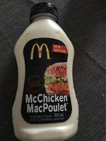 Mcchicken Sauce - Producto