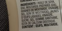 Mcchicken Sauce - Ingredients - fr