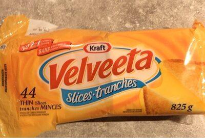 Tranches minces produit de fromage fondu - Product - fr