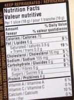 Montery jack - Informations nutritionnelles - fr