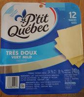 P'tit Québec cheddar très doux - Product - fr