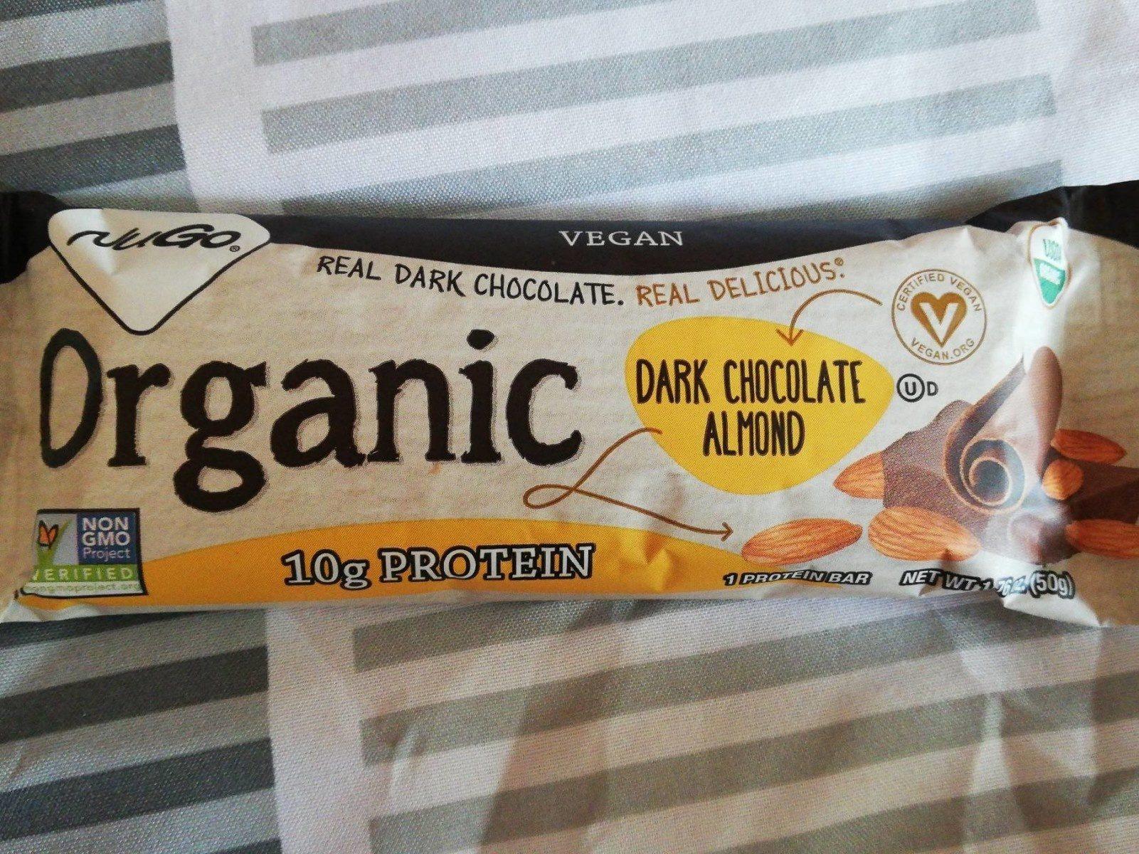 Organic dark chocolate almond - Product