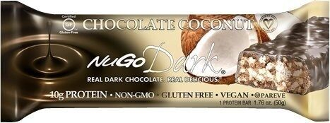 Bar dark coconut chocolate - Prodotto - en