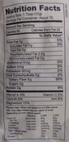 Chia Seed Black - Nutrition facts - en