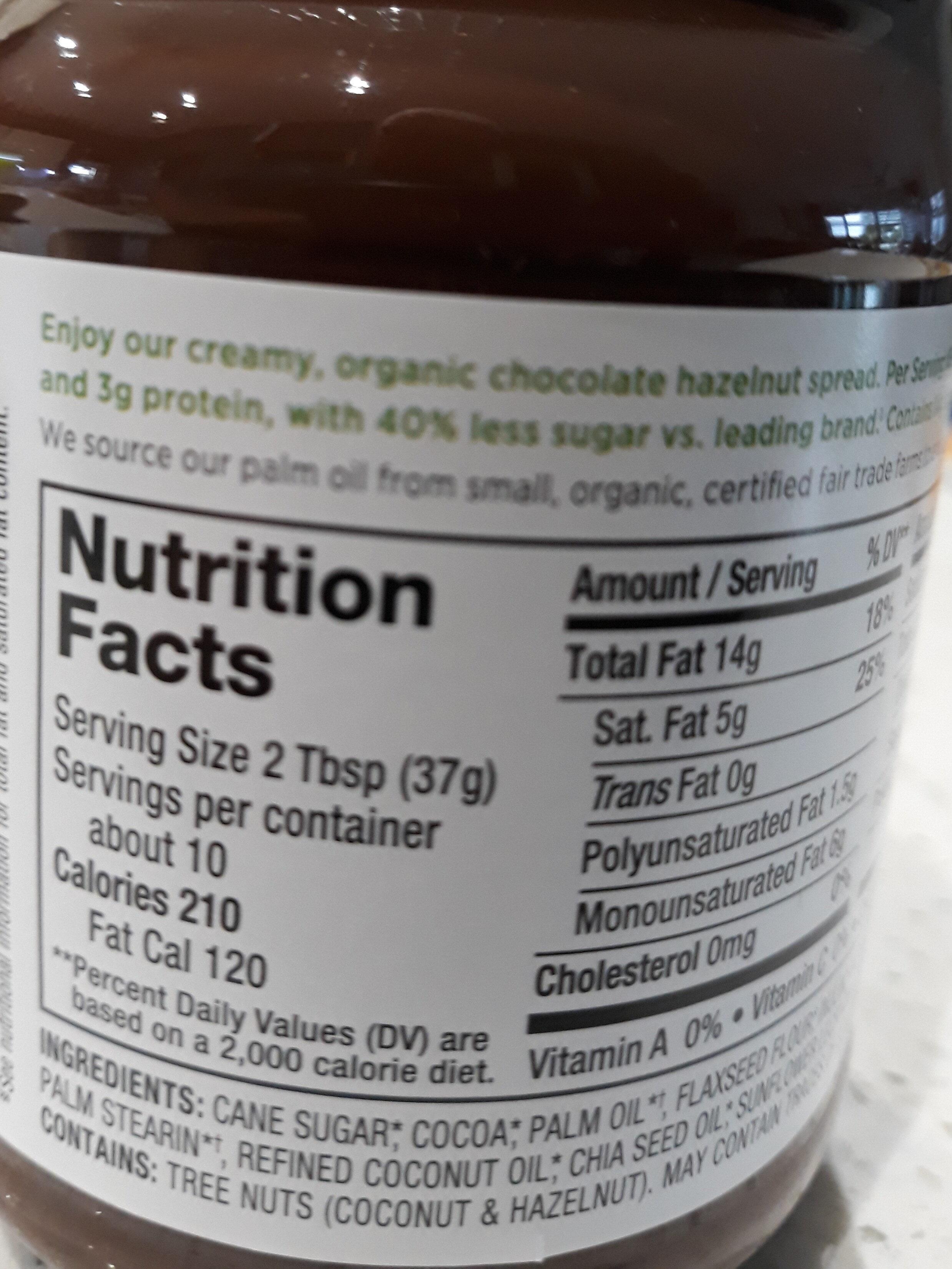 Organic - Ingrédients - en