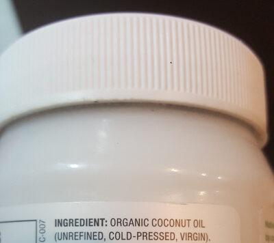 Organic - Ingredients - en
