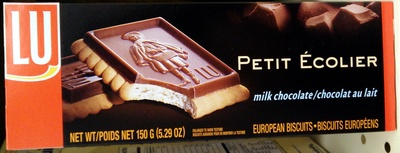 Lu petit ecolier cookies milk chocolate 1x5.29 oz - Product