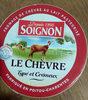 Le chèvre Typé & Crémeux - Product