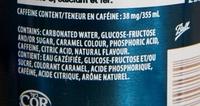 Pepsi - Ingredients - fr