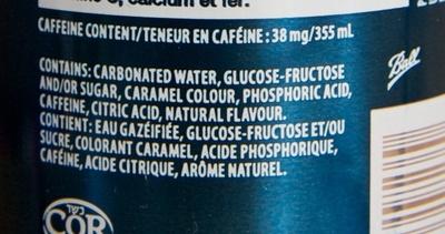 Pepsi - Ingredients