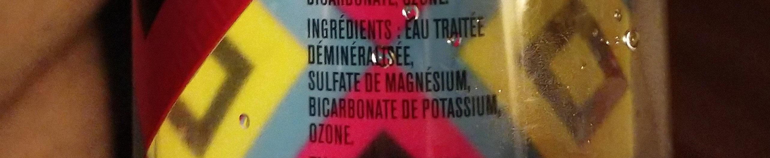 ARTO LIFE WTR - Ingredients - fr
