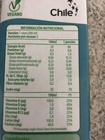 Vilay arroz bebida de arroz - Nutrition facts - es