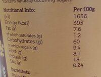 Quinoa Porridge - Nutrition facts