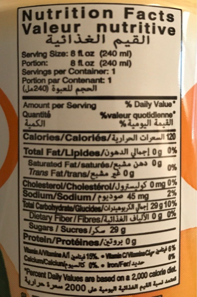 Chin Chin - Nutrition facts