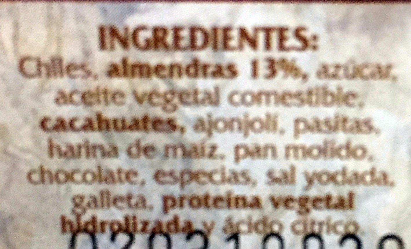 Cocina Mestiza - Ingrediënten - es