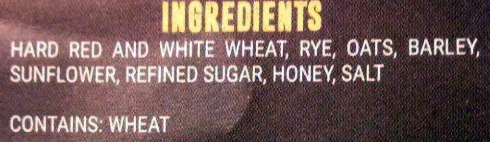 6 Grain Cereal - Ingredients - en