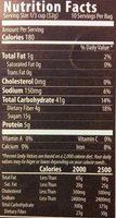 6 Grain Cereal - Nutrition facts - en