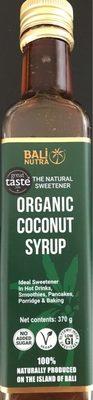 Coconut syrup - Produit