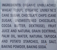 Colossal Chocolate Chip Cookie - Ingredients - en