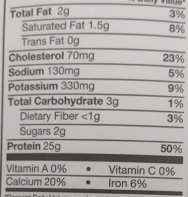 elite 100% whey - Ingredients - en