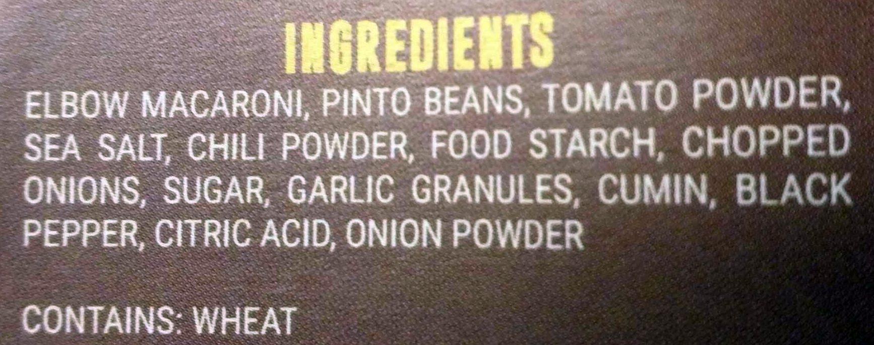 Chili Mac - Ingredients - en