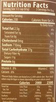 Enchilada Beans and Rice - Nutrition facts - en