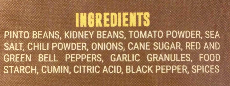 Classic Chili - Ingredients - en