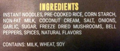 Chicken A La King - Ingredients - en