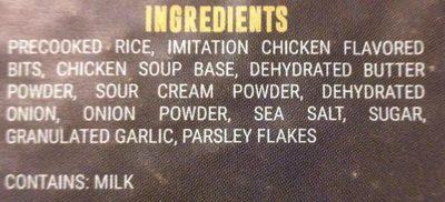 Chicken and Rice Pilaf - Ingredients - en