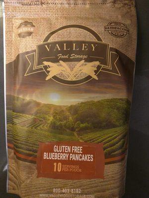 GLUTEN FREE BLUEBERRY PANCAKES - Product - en