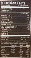 GLUTEN FREE BLUEBERRY PANCAKES - Nutrition facts - en