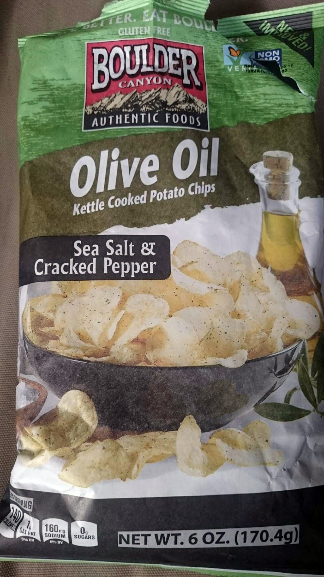 Cooked Potato Chips - Product