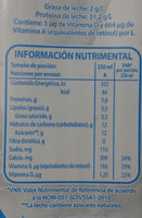 Parmalat Light - Informations nutritionnelles - es